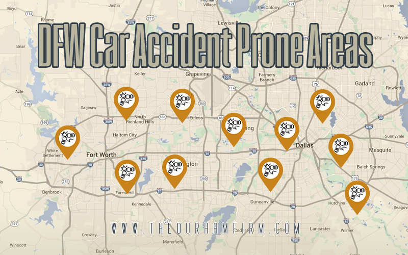 Make Sure You Know the DFW Car Accident Prone Areas
