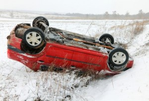 Winter weather car accident claims dallas, TX